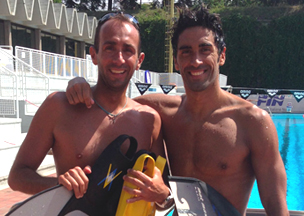 Filippo Magnini(swimmer, twice World Champion)