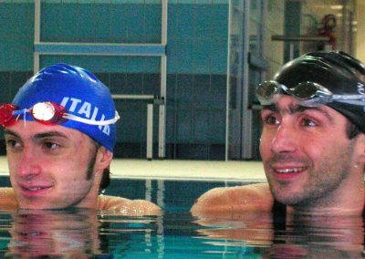 Stefano Figini(many times World Finswimming Champion)