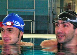 Stefano Figini(Pluri Campione Mondiale di Nuoto Pinnato)