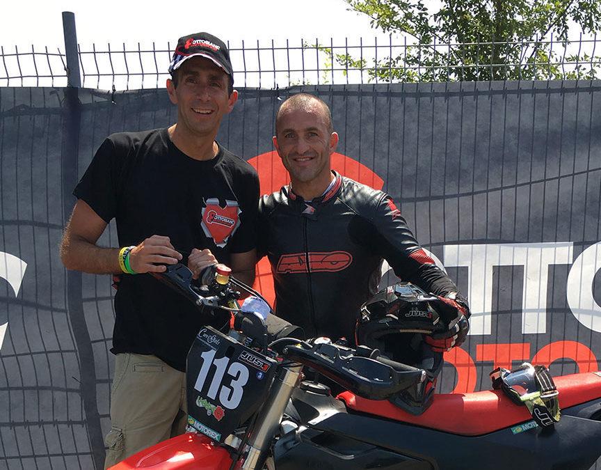 Max Verderosa(Campione mondiale e Europeo di motociclismo)