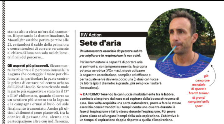 Sete d'Aria – Runners Agosto 2017