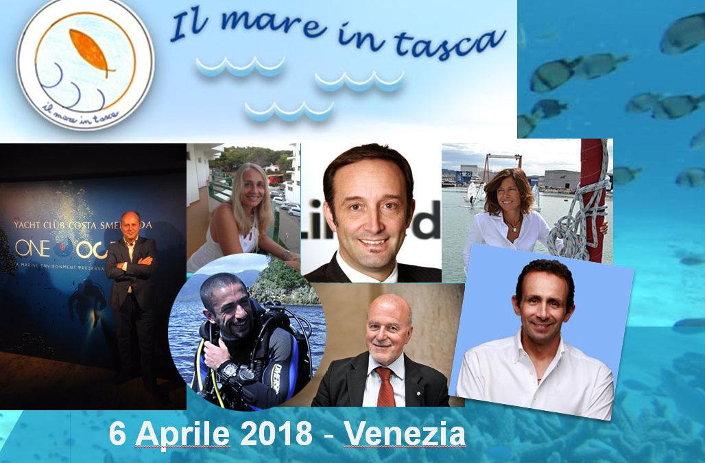 IL MARE IN TASCA | 6 APRILE 2018 VENEZIA