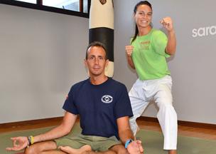 Sara Cardin(World and European Karate Champion)