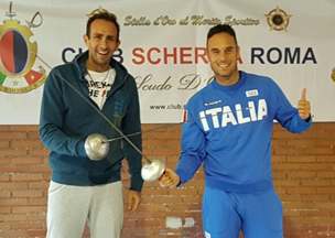 Paolo Pizzo(World Fencing Champion)