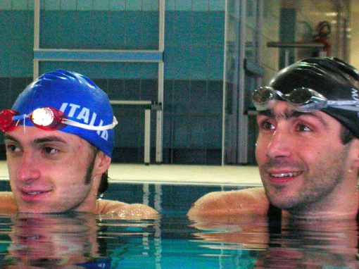 Stefano Figini<br>(many times World Finswimming Champion)