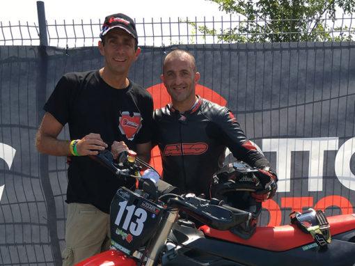 Max Verderosa<br>(Campione mondiale e Europeo di motociclismo)