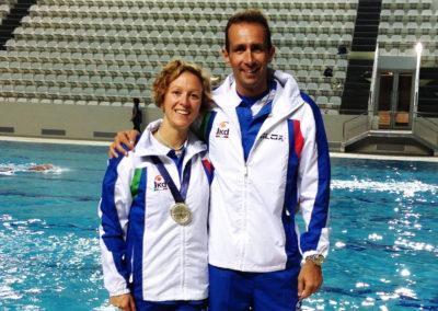 Ilaria Bonin  (freediver, World Champion)