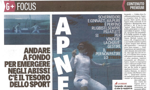 Gazzetta dello Sport | Agosto 2018