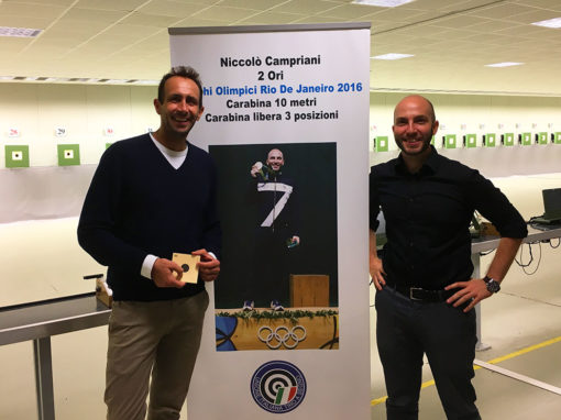 Niccolo Campriani <br> (Olympic Gold Target Shooting)