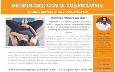 Respirazione e Gravidanza | 24 Gennaio 2019 – Milano