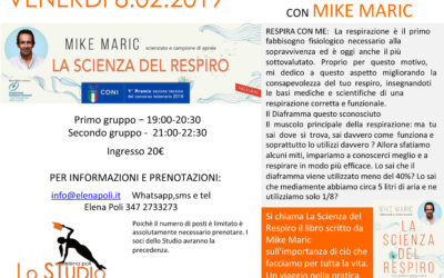 "WORKSHOP ""RESPIRAZIONE E PILATES"" | 8 FEBBRAIO 2019 – LEGNANO"