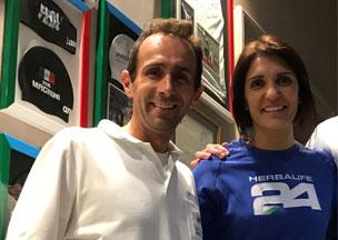 Arianna Errigo <br> (Olympic and World Fencing Champion)