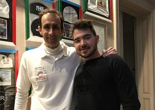Lorenzo Bacci  (Campione europeo e italiano di Tiro a segno)
